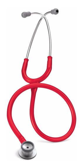 Estetoscopio 3m Littmann Classic Ii Neonatal 2114r Rojo