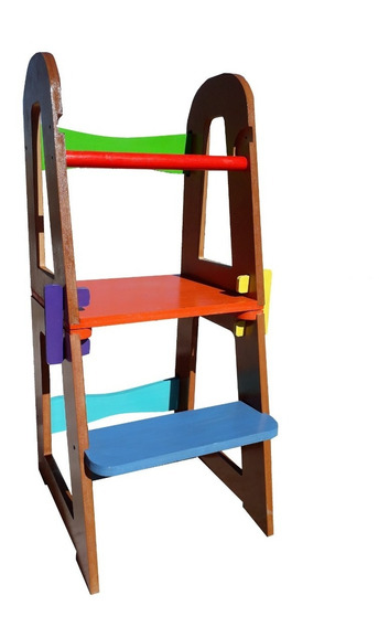 Torre Aprendizaje Mesa Silla Montessori Envio Gratis
