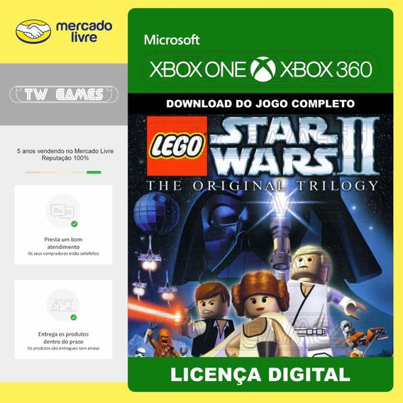 Lego Star Wars Ii 2 Digital Retro Xbox One Xbox 360
