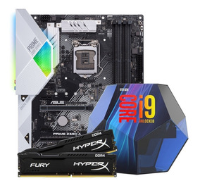 Kit Asus Prime Z390-a + Core I9 9900k + 32gb 3200mhz Hyperx