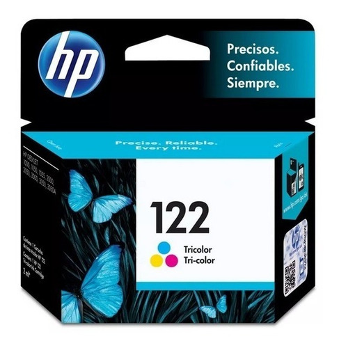 Cartucho Hp Original Verificable 122 Color 122c 2050 3050