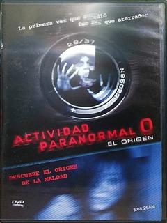Dvd Actividad Paranormal 0 El Origen Región 1 Y 4