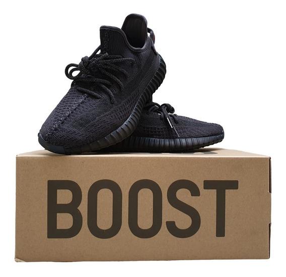 Yeezy Boost 350 V2 Black (non Reflective)