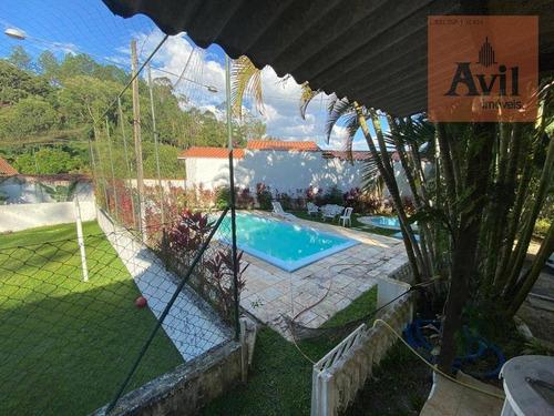 Chácara À Venda, 5000 M² Por R$ 1.100.000,00 - Morro Grande - Santa Isabel/sp - Ch0004