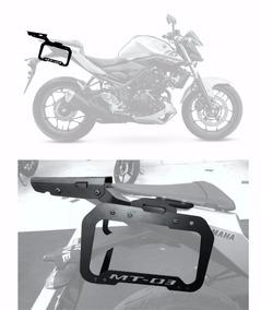 Kit Bagageiro + Afastador De Alforges - Yamaha Mt03 320
