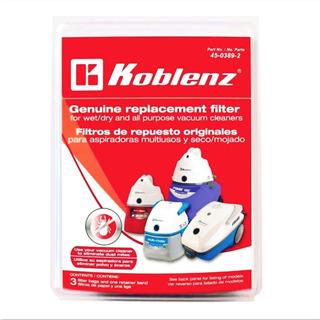Filtro De Repuesto Koblenz 45-0389-2 Aspiradora Envio Gratis