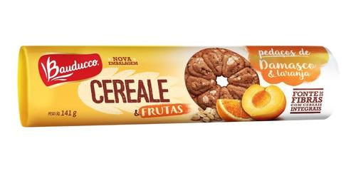 Biscoito Cereale & Frutas Damasco E Laranja Bauducco 147g