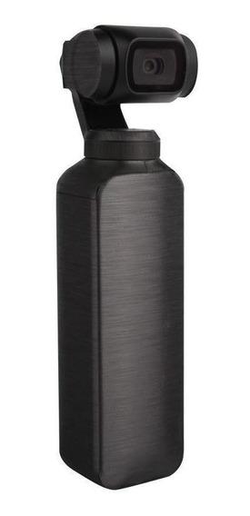 Capa Protetora Em Adesivo Metálico Preto Dji Osmo Pocket
