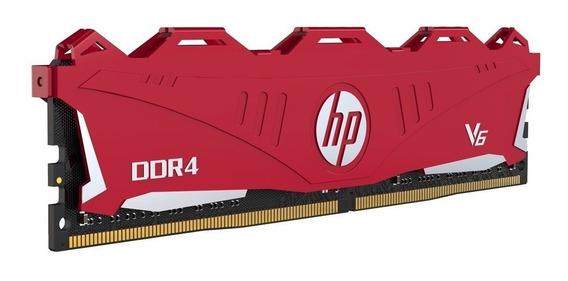 Memoria Ram Pc 8gb Hp V6 Ddr4 2666mhz Dimm Oc Heatsink Gtia