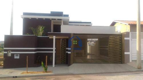 Casa Com 3 Dormitórios À Venda, 110 M² Por R$ 350.000,00 - Setsul - São José Do Rio Preto/sp - Ca2106