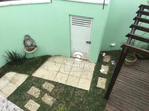 Sobrado Com 3 Dormitórios À Venda, 170 M² Por R$ 849.000,00 - Campestre - Santo André/sp - So2516