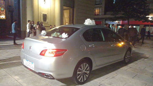 Imagen 1 de 10 de Alquiler De Auto Para Casamientos - 15 Años -  Peugeot 408