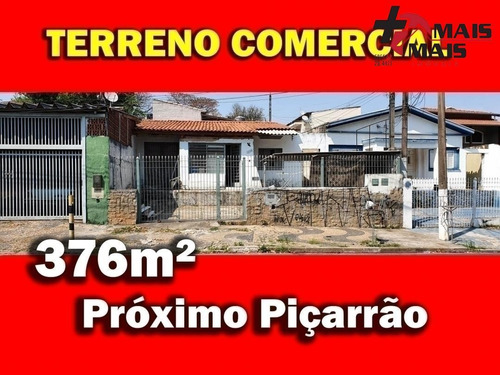 Imagem 1 de 9 de Terreno Lote Comercial Próximo Da Marginal Piçarrão E Francisco De Paula S - Mais376a