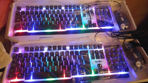 Combo Mouse Y Teclado Gamer