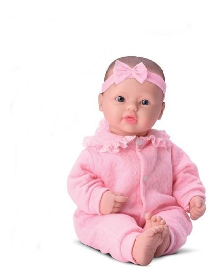 Boneca Bebês Coleção Estilo Reborn Menina - Divertoys