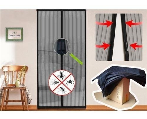 Kit Tela Mosqueteira Magnética P/ Porta