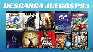 Pack 10 Juegos Ps3