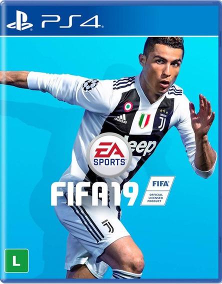 Jogo Fifa 19 Playstation 4 Ps4 Pronta Entrega Frete Grátis