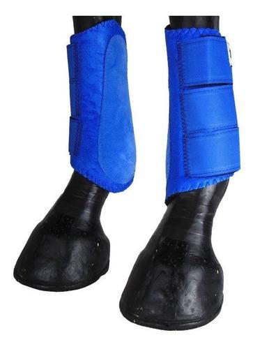 Imagem 1 de 4 de Caneleira Para Cavalo Show Horse Azul Level 1