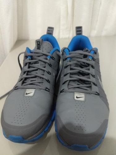 Tênis Nike Air Max Supreme 4 Cinza E Azul