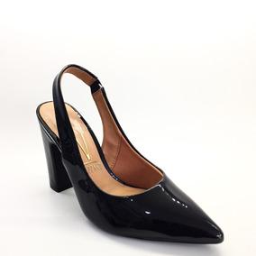 749bfbdf21 Sapato Scarpin De Elastico Vizzano Preto 1113.301 - Calçados