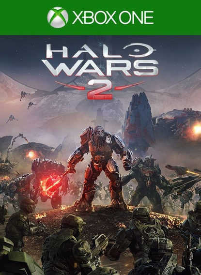 Jogo Halo Wars 2 Xbox One Mídia Física Português Xone Novo