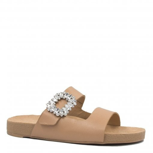 Rasteira Zariff Shoes Birken Pedrarias108016zrf