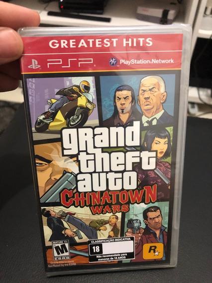 Gta Grand Theft Auto Chinatown Wars Psp Lacrado