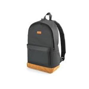 Mochila Backpack Preta E Marrom