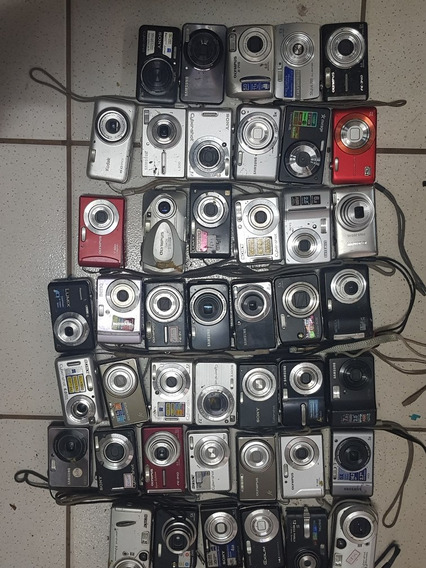 Lote Com 43 Camera Digital Para Retirada De Peças