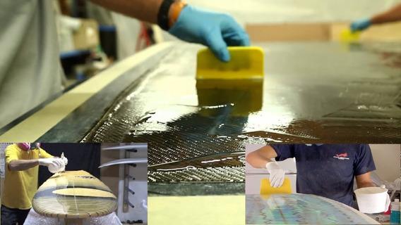Resina Epoxi Baixa P Fibra Vidro Kevlar Carbono Kit 2,84 Kg