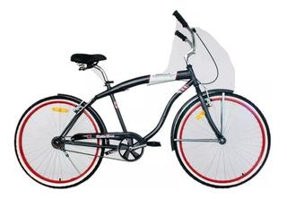 Bicicleta Playera Liberty De La Cruz R26 Chopera Metalizada