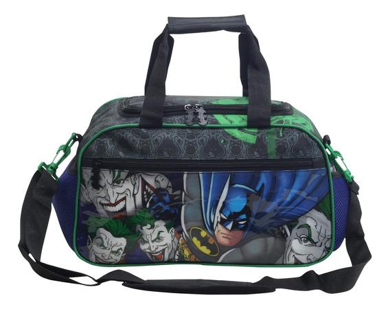 Bolsa Mala Viagem Bordo Infantil Batman Mad Hous Xeryus 7247