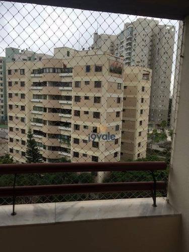 Apartamento Residencial À Venda, Top Vision, Vila Ema, São José Dos Campos-sp. - Ap0107