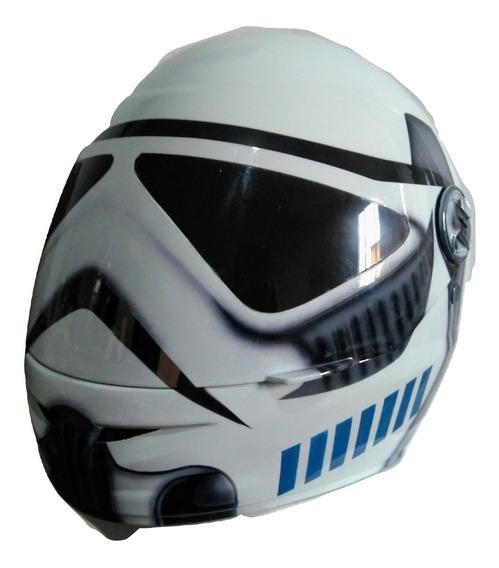 Capacete Integral Fechado Original Personalizado Star Wars