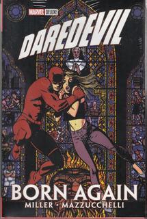 Cómic Marvel Deluxe Daredevil: Born Again Tapa Dura Sellado