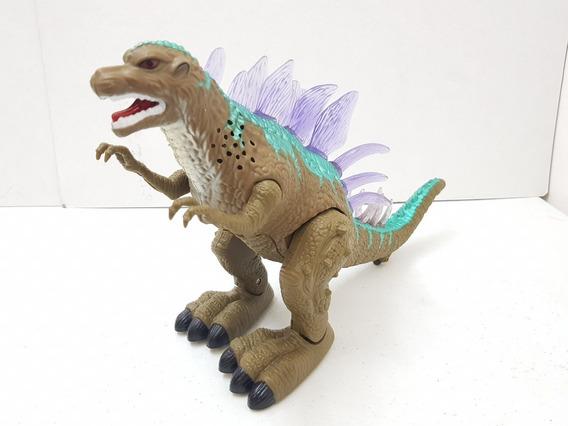 Dinosaurio Tipo Gozilla De Juguete, Con Movimiento Y Luz