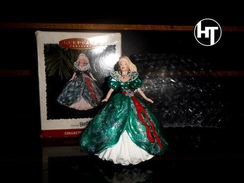 Imagen 1 de 10 de Barbie, Holiday, Figura Ornamental, De Recina, 4 Pulgadas
