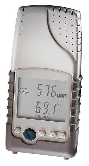 Sensor Portátil De Qualidade Do Ar Co2 E Temperatura -t7001