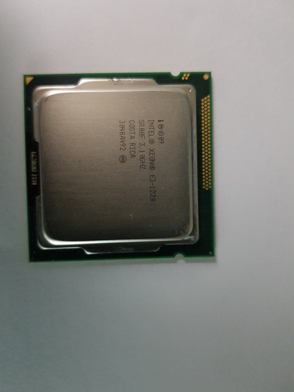 Processador Intel Xeon E3-1220 3.10 Lga 1155