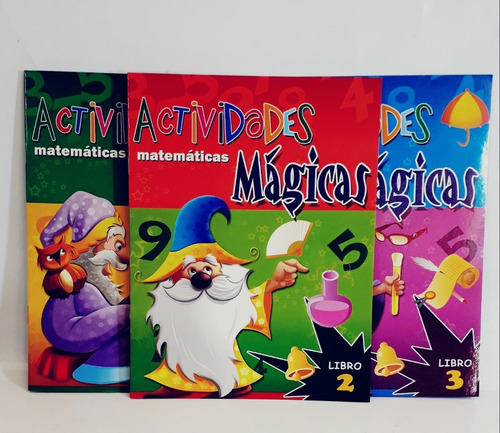 Imagen 1 de 1 de Libro Actividades Magicas Matematicas