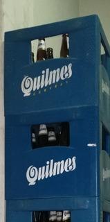 Cajon De Cerveza Quilmes, Brahma De Litro Botellas Vacías