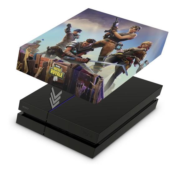 Capa Ps4 Fat Anti Poeira Playstation Fortnite Battle Royale
