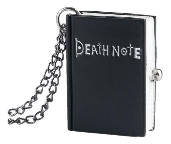 Collar Death Note Libreta Reloj Anime Juvenil Geek Gamer