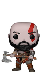 Funko Pop! Juegos: God Of War - Kratos Con El Hacha Figura C