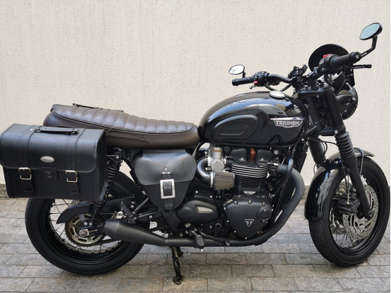 Triumph Bonneville T120 Black Com Muitos Acessorios