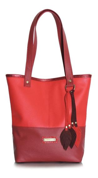 Bolso Memphis Rojo Nuevo ! Isabella Cruz Bags