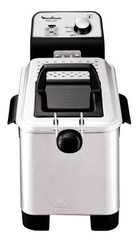Imagen 1 de 2 de Freidora eléctrica Moulinex Easy pro 3L plata 220V