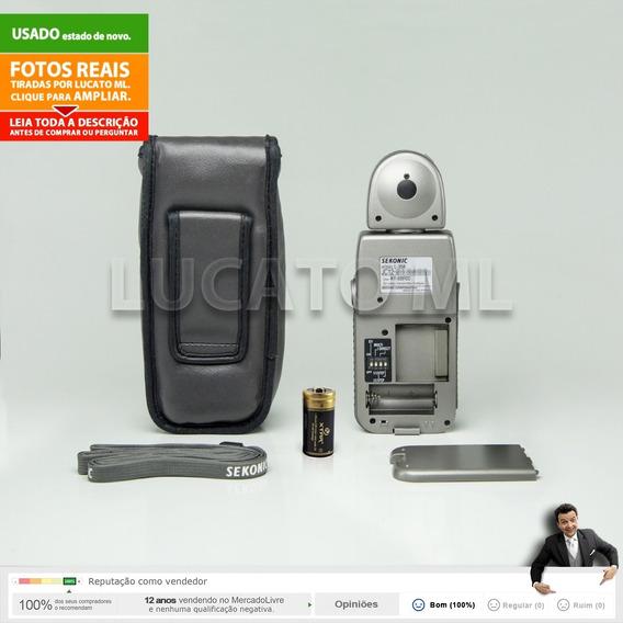 Fotômetro Sekonic L358 Flash Master + Bateria | 12x S/juros