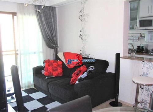 Imagem 1 de 30 de Apartamento Com 2 Dormitórios À Venda, 58 M² Por R$ 450.000 - Tatuapé - São Paulo/sp - Ap3149